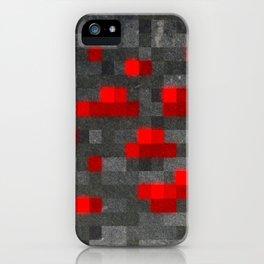 MC Redstone Block iPhone Case