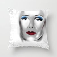 hedwig Throw Pillows featuring Hedwig by aesthetic_vampy