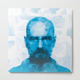 HeisenBerg The One Who Knock  Metal Print
