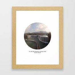 011: Kunming, China Framed Art Print