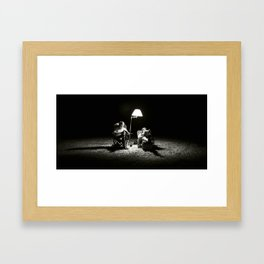 The Reading Light Framed Art Print