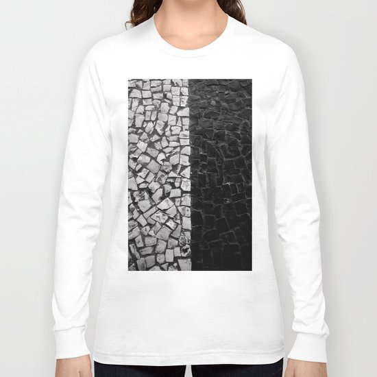 Black and White on the streets Long Sleeve T-shirt