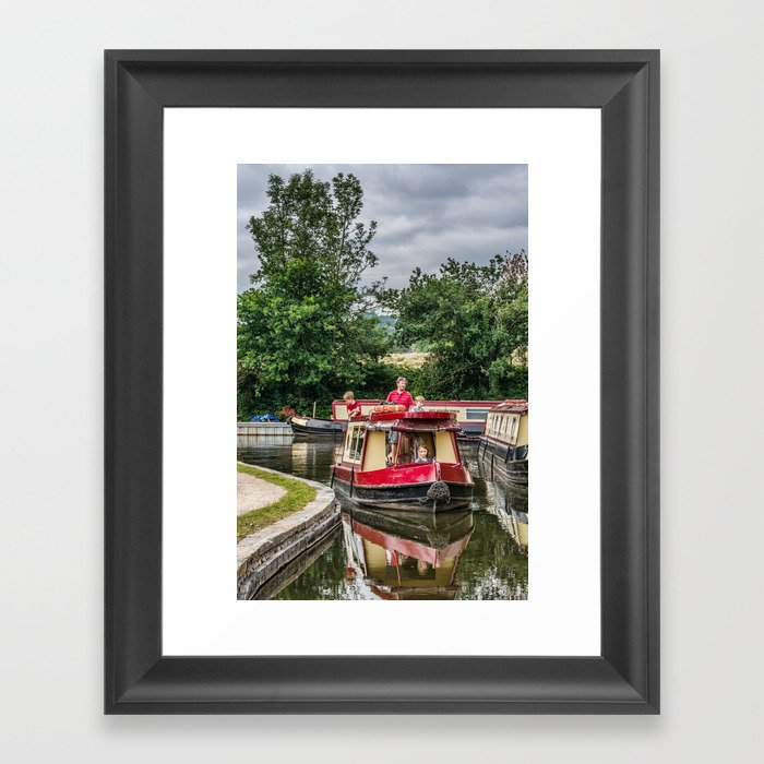 A Day Cruising 2 Framed Art Print