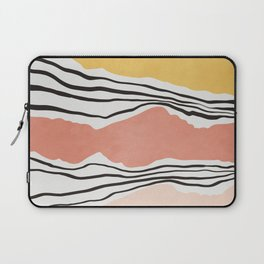 Modern irregular Stripes 01 Laptop Sleeve