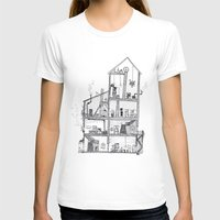 home sweet home T-shirts featuring Home Sweet Home by Zorko