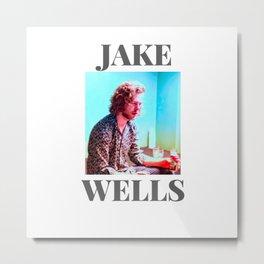 Jake Wells Colourful #1 Metal Print