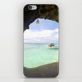 Boracay Cave iPhone Skin