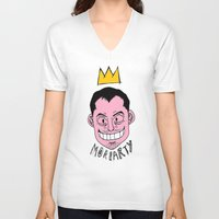 moriarty V-neck T-shirts featuring Moriarty by Hypermeganeko