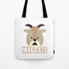 Magoats Funny Goat Herbivore Mammals Wildlife Animal Nature Gift Tote Bag