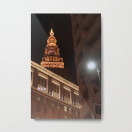 Night Lights... Metal Print