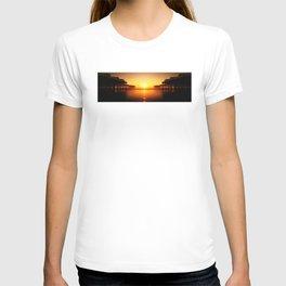 Pier Mirrored Sunset T-shirt