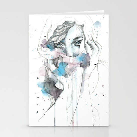 Scarf Stationery Cards