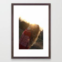 light Framed Art Print
