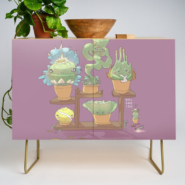 August's Plants Credenza