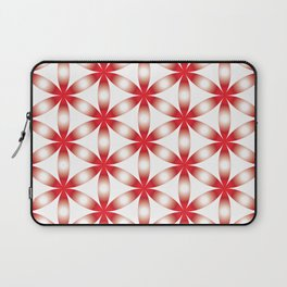 Red tree of life Red seed of life Laptop Sleeve