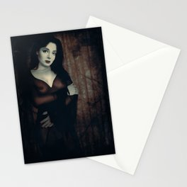 Morticia Uncensored Stationery Cards