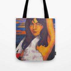 Swan Lady Tote Bag