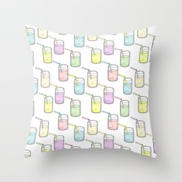 Let's drink to pride Throw Pillow