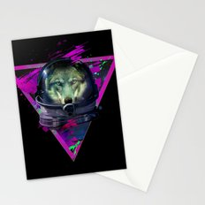 Lonely Astronaut Stationery Cards
