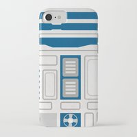 r2d2 iPhone & iPod Cases featuring R2D2 by Alison Lee