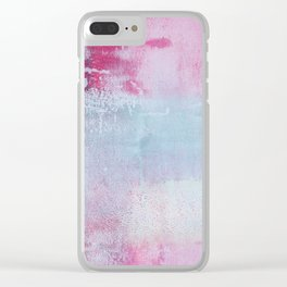 Abstract No. 222 Clear iPhone Case