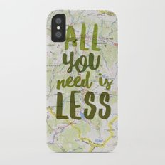 All You Need is Less Slim Case iPhone X