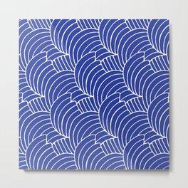 """Koloman (Kolo) Moser """"Textile pattern (Bogen)"""" (1) Metal Print"""