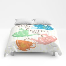 Put The Kettle On Comforters