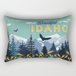 Beautiful Idaho Rectangular Pillow