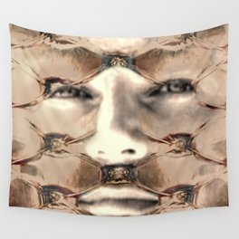 Puffy eyes Wall Tapestry