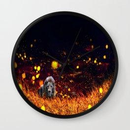 Savannah Requiem Wall Clock