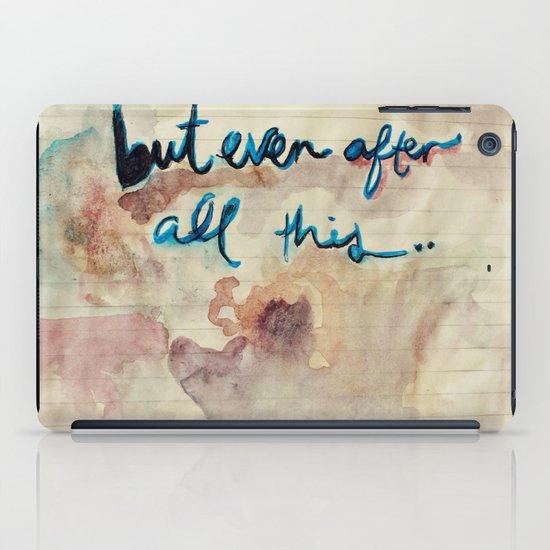 Real Love iPad Case