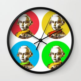 Mozart Kugeln 4c Wall Clock