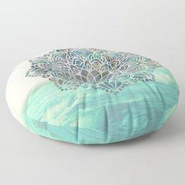 Mandala Mermaid Oceana Floor Pillow