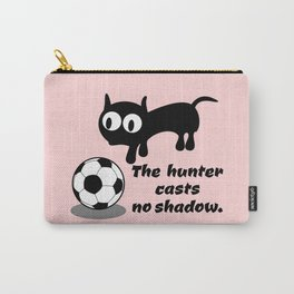 Cat Football Carry-All Pouch