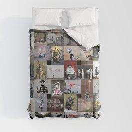 Banksy Comforters