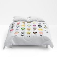 Ad Venture Time Alphabet Comforters