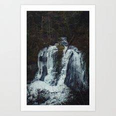 Upper McCord Creek Falls Art Print