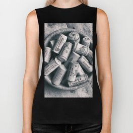 Collection of Corks. Biker Tank