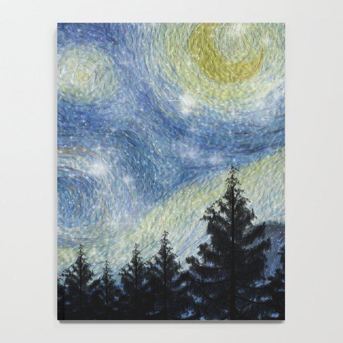 Starry Night Notebook