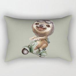 RUNAWAY SLOTH Rectangular Pillow
