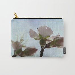spring blooms on a bu background  Carry-All Pouch