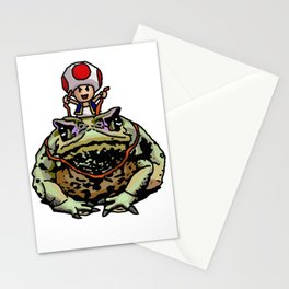 Toad Racing Stationery Cards