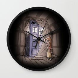 Bigger on the Inside! Wall Clock