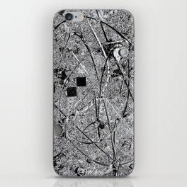 Power of Silver iPhone Skin