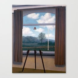 The Human Condition by Rene Magritte Canvas Print