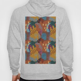Autumn Abstract Painting Hoody