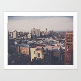 North Chicago Art Print
