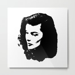 Katharine Hepburn Is Stunning Metal Print