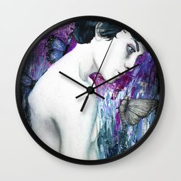 Pray for Paradise Wall Clock